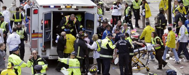 THE BOSTON TERRORIST ATTACKS
