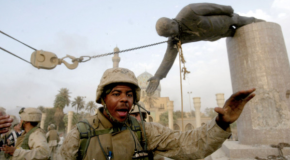 The fall of the Saddam Hussein regime
