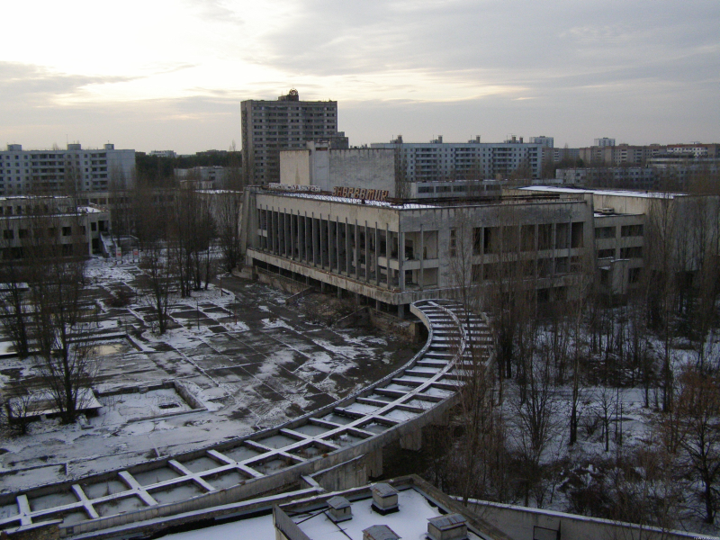 Image from Pripyat
