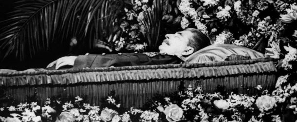 The funeral of Joseph Stalin