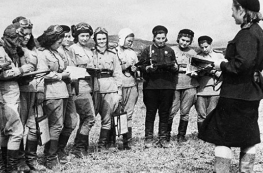 An Unusual WW2 Aviation Squad: The Night Witches